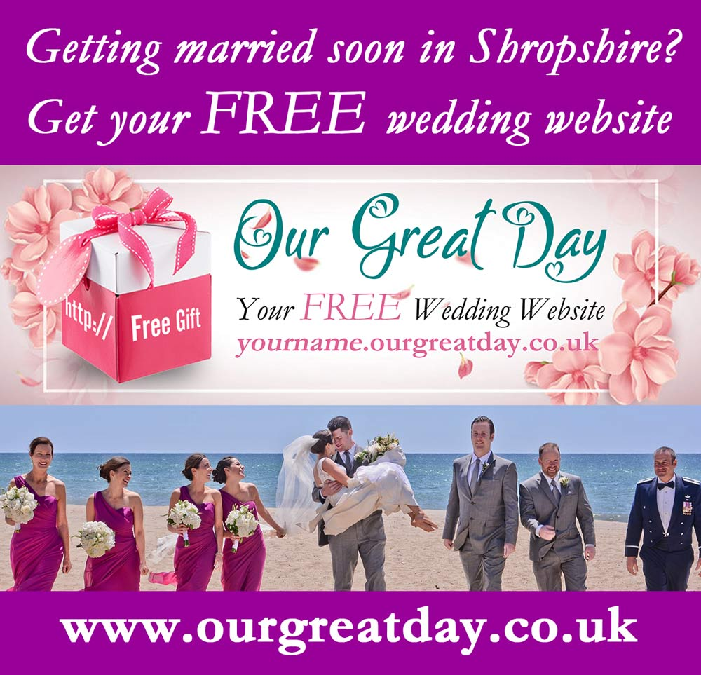 Our Great Day Free Wedding Website