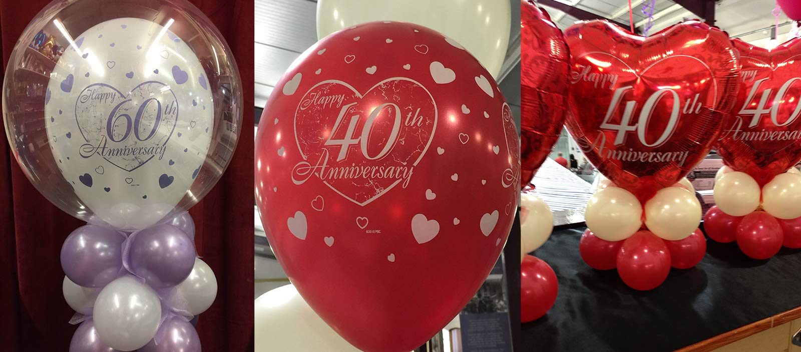 Balloons for all Occasions anniversary balloons