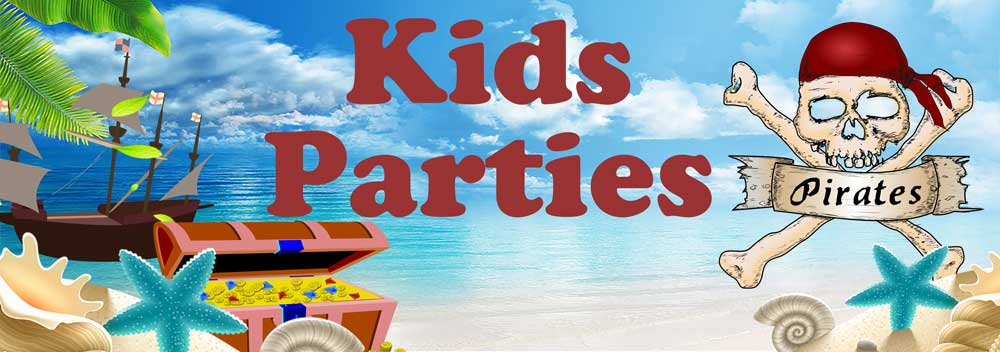 Balloons for all Occasions Kids Party banners